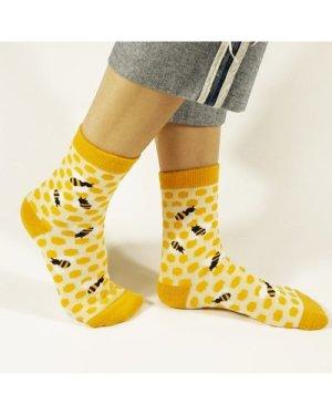 Bee Pattern Socks