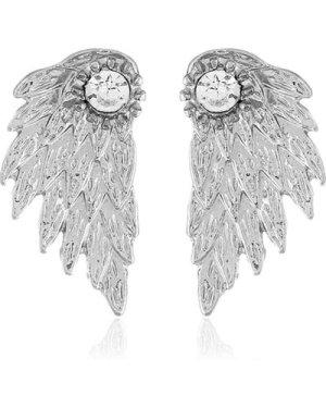 Wing Shaped Stud Earrings 1pair
