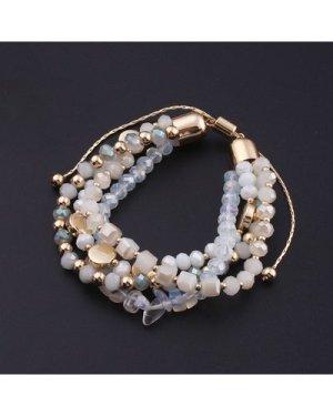 1pc Beaded Layered Bracelet