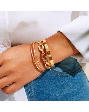 Chain Design Bracelet 3pcs