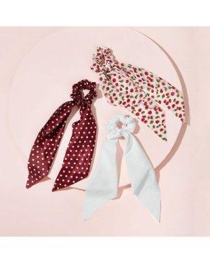 3pcs Polka Dot Hair Tie