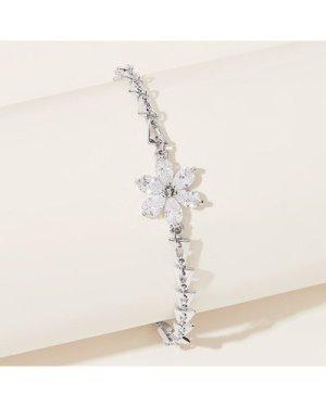 1pc Floral Shape Chain Bracelet