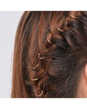 Simple Hair Ring Set 10pcs