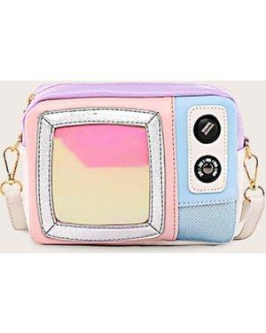 Camera Design Crossbody Bag