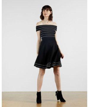 Bardot Knitted Skater Dress