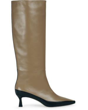Bente Long Boot Khaki / Black