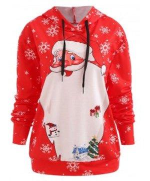 Christmas Santa Hoodie