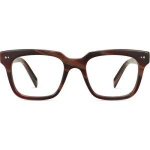 Winston eyeglasses in Striped Auburn (Non-Rx)
