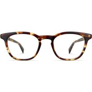 Turner Wide eyeglasses in Root Beer (Non-Rx)