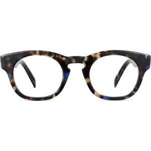 Kimball Wide eyeglasses in Tanzanite Tortoise (Non-Rx)