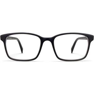 Brady Wide Eyeglasses in Black Matte Eclipse (Non-Rx)