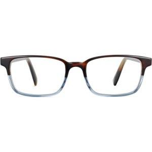 Crane LBF eyeglasses in eastern bluebird fade (Non-Rx)