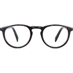 Stockton LBF eyeglasses in whiskey tortoise (Non-Rx)