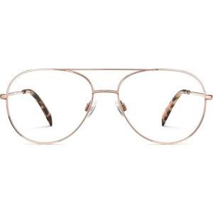 York eyeglasses in Rose Gold  (Non-Rx)