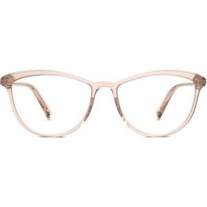 Louise Wide LBF eyeglasses in Elderflower Crystal Non-Rx