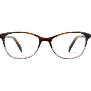 Daisy Extra Narrow eyeglasses in tea rose fade Non-Rx