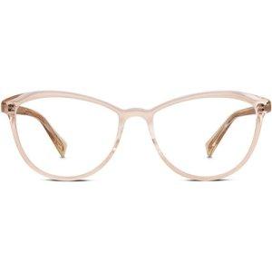 Louise Wide Eyeglasses in Elderflower Crystal Non-Rx