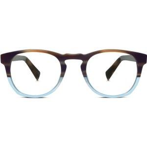 Topper Eyeglasses in River Stone Blue Fade Non-Rx
