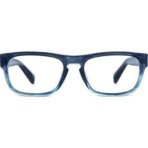 Roosevelt Eyeglasses in Blue Slate Fade -  Non-Rx