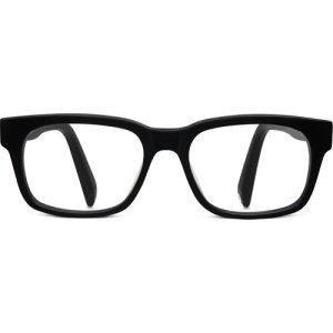 Beckett Eyeglasses in Jet Black Matte Non-Rx