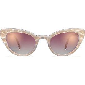 Evelina sunglasses in Lunar Pearl (Non-Rx)