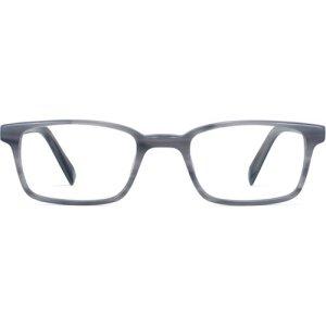 Langhorne Eyeglasses in Marbled Grey (Non-Rx)