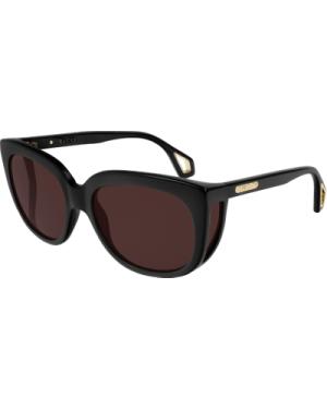 Gucci GG0468S 001 Black/Brown