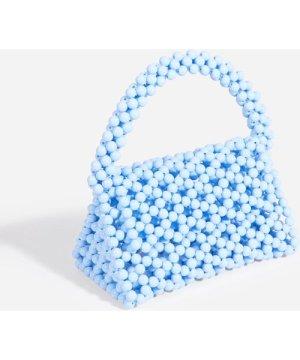 Milly Beaded Grab Bag In Blue