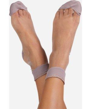 Ankle Socks In Pink Mesh