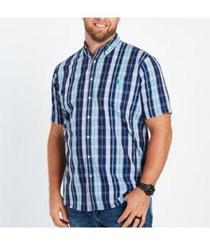 Plaid Easy Care Sport Shirt