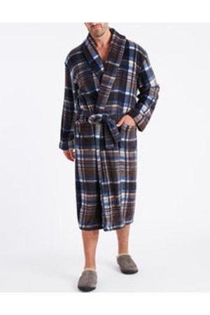 Plaid Plush Robe