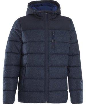 Weird Fish Laurent Puffa Jacket Ensign Blue Size XL