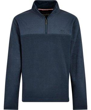 Weird Fish Rothay 1/4 Zip Fleece Sweatshirt Navy Size XS