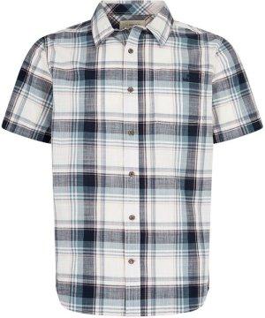 Weird Fish Modbury Short Sleeve Checkered Shirt Navy Size 3XL