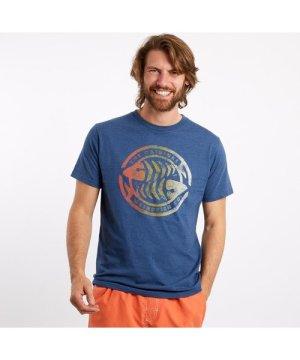Weird Fish Summer Surf Graphic T-Shirt Ensign Blue Size XL