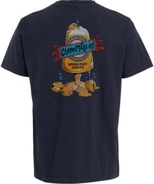 Weird Fish Clam Miguel Artist T-Shirt Navy Size 2XL