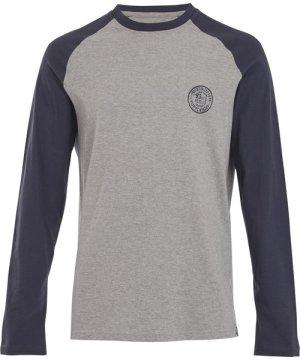 Weird Fish Hennock Long Sleeve Raglan T-Shirt Navy Size 2XL