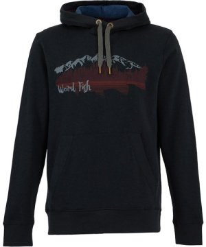 Weird Fish Lismore Recycled Graphic Hoodie Black Size 3XL