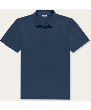 Slate Grey Ultra-Soft Polo Shirt, Egyptian Cotton