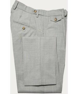 Light Grey Raval Trousers in Fresh Wool