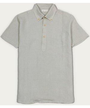 Agate Grey Linen Ivy S/S Shirt