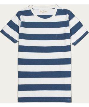 Blue/White Bold Stripe T-Shirt