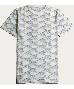 Waves Printed T-Shirt