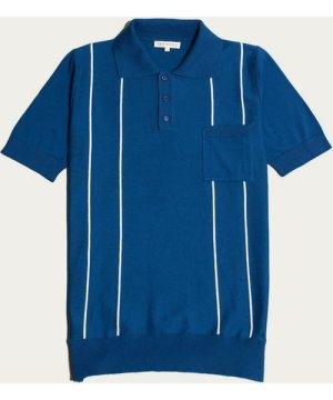Monaco Blue Alfaro S/S Polo