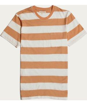 Toasted Orange Bold Stripe T-Shirt