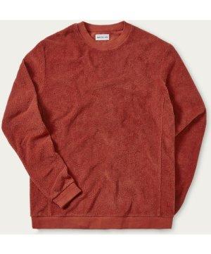 Tobacco Terry Towelling Sweatshirt