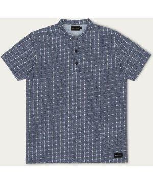 Navy Kyoko Polo Shirt