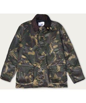 Olive Camo Landowner Wax Walking Jacket