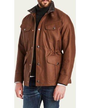 Demerera Brown Field Jacket