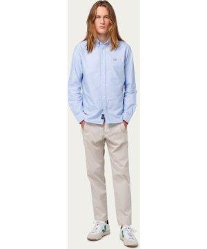 The Plain Light Blue Duck Button Down Shirt